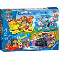 Ravensburger PAW Patrol 4 Shaped Puzzles - Puzzles Gifts