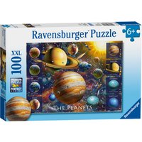 Ravensburger The Planets 100 Piece XXL Puzzle - Ravensburger Gifts