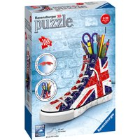 Ravensburger British Flag Sneakers 108 Piece 3D Puzzle - Ravensburger Gifts