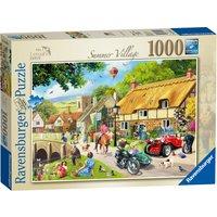 Ravensburger Leisure Days Summer Village 1000 Piece Puzzle - Summer Gifts