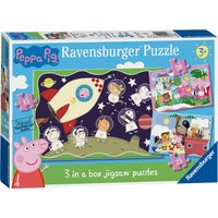 Ravensburger Peppa Pig 3 in Box Puzzles
