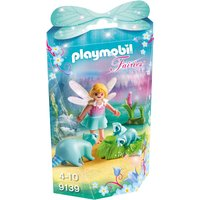 Playmobil Collectable Fairy Girl With Racoons 9139