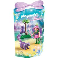 Playmobil Collectable Fairy Girl With Animal Friends 9140