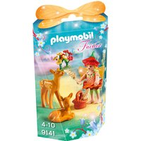 Playmobil Collectable Fairy Girl With Fawns 9141