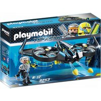 Playmobil Top Agents Mega Drone & Firing Weapons 9253 - Drone Gifts
