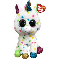 TY Harmonie Spotty Unicorn Boo Buddy - Hamleys Gifts