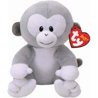 TY Baby Pookie Grey Monkey Small Soft Toy - Grey Gifts