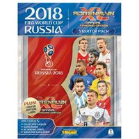 FIFA World Cup Russia 2018 XL Trading Card Starter Pack - World Cup Gifts