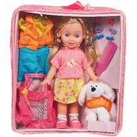 Hamleys Sophia Doll with Puppy & Carry Case - Puppy Gifts