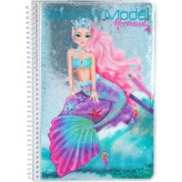 TOPModel Fantasy Model Mermaid Colouring Book