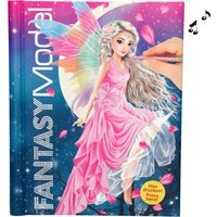TOPModel Fantasy Model Light & Sound Colouring Book
