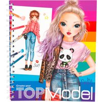 TOPModel Create Your TOPModel Colouring  Book