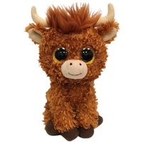 TY Angus Highland Cow Beanie Boo - Cow Gifts