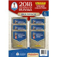 FIFA World Cup Russia 2018 Sticker Collection Multipack - World Cup Gifts