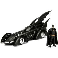 Batman Forever Batmobile 1:24 Diecast Model with Figure