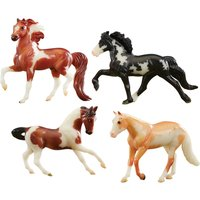 Breyer Glow In The Dark 4 Horse Set