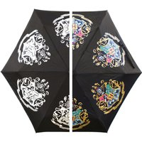 Harry Potter Crest Colour Change Umbrella - Umbrella Gifts