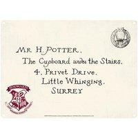 Harry Potter Hogwarts A5 Tin Sign