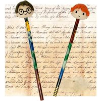 Harry Potter 3D Pencil & Eraser Set - Harry Potter Gifts