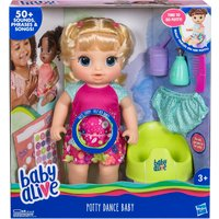 Baby Alive Potty Dance Blonde Hair Baby Doll - Potty Gifts
