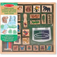 Melissa & Doug Rain Forest Stamp-A-Scene
