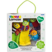 Lamaze Gardenbug Foot Finder and Wrist Rattle Set - Hamleys Gifts