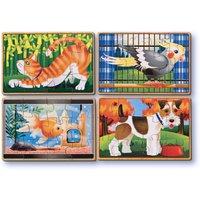 Melissa & Doug Pets Puzzles-in-a-Box