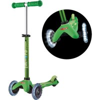 Micro Scooter Mini Deluxe LED Green