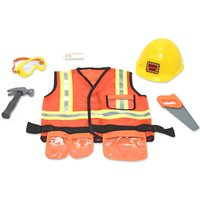 Melissa & Doug Construction Worker Roleplay Set - Construction Gifts
