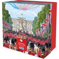 Gibsons Trooping The Colour 500 Piece Puzzle - Colour Gifts