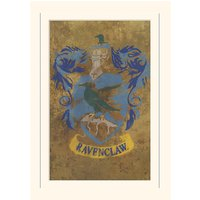 Harry Potter Ravenclaw Crest Loose Mounted Print