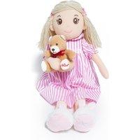Hamleys Bedtime Bella Rag Doll with Bear - Dolls Gifts