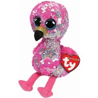 TY Pinky Flamingo Sequin Flippable Boo