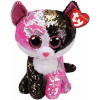 TY Malibu Cat Sequin Flippable Boo Medium - Malibu Gifts