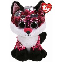 TY Jewel Fox Sequin Flippable Boo Medium - Jewel Gifts