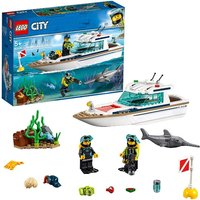 LEGO City Diving Yacht 60221 - Diving Gifts