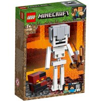 LEGO Minecraft Skeleton BigFig With Magma Cube 21150 - Minecraft Gifts