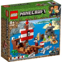 LEGO Minecraft The Pirate Ship Adventure 21152 - Minecraft Gifts