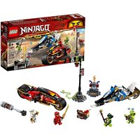 LEGO Ninjago Kai Blade Cycle & Zanes Snowmobile 70667
