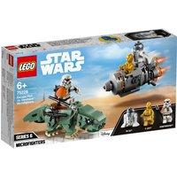 LEGO Star Wars Escape Pod v Dewback Microfighters 75228