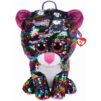 TY Dotty Leopard Sequin Backpack