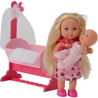 Evi Love Doll & Cradle Playset - Dolls Gifts