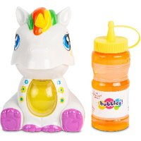 Click to view product details and reviews for Hamleys Unicorn Bubble Machine White Pink Ass.