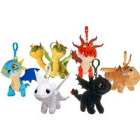 How to Train Your Dragon 10cm Bag Clip Assortment - How To Train Your Dragon Gifts
