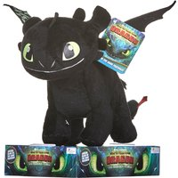 How to Train Your Dragon 32cm Toothless Soft Toy - How To Train Your Dragon Gifts