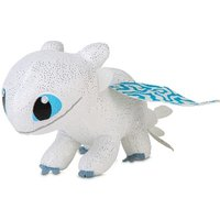 How to Train Your Dragon 32cm Light Fury Soft Toy - How To Train Your Dragon Gifts