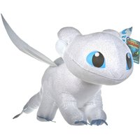 How to Train Your Dragon 60cm Light Fury Soft Toy - Train Gifts