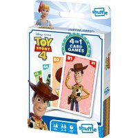 'Toy Story 4 Shuffle Flip 4 In 1 Card Game