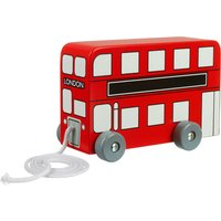 London Bus Pull Along Bus Toy - London Gifts