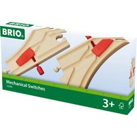 BRIO World Railway Track Mechanical Switches - Track Gifts